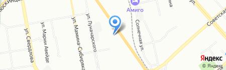 Детский сад №288 на карте Екатеринбурга
