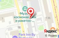 Схема проезда до компании Союзкомпания в Екатеринбурге