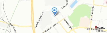 УТХ на карте Екатеринбурга