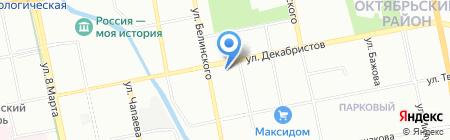СПК Мастер на карте Екатеринбурга