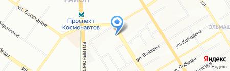 ЖКХ Орджоникидзевского района на карте Екатеринбурга