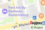 Схема проезда до компании Колыбелька в Екатеринбурге