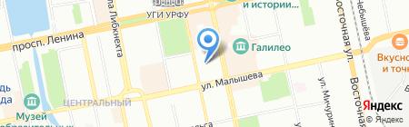 Уральский Центр Жилья на карте Екатеринбурга
