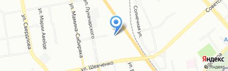 Почтовое отделение №133 на карте Екатеринбурга