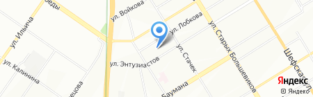 ПромАВТ Систем на карте Екатеринбурга