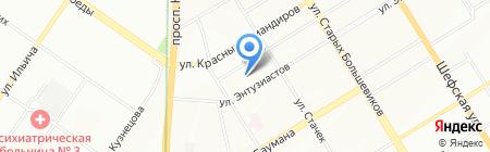 Полимер-Проект на карте Екатеринбурга
