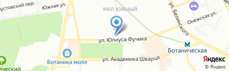Бэби-Клуб на карте Екатеринбурга