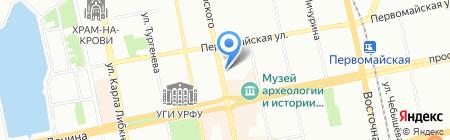 Банкомат БыстроБанк на карте Екатеринбурга
