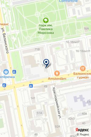 ТотемКлуб на карте Екатеринбурга