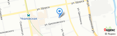 Petal Lotus на карте Екатеринбурга