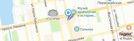 Волшебное облако на карте Екатеринбурга