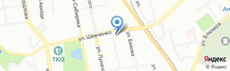 Про Гранит на карте Екатеринбурга