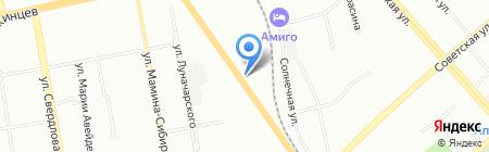 Aquagizer на карте Екатеринбурга