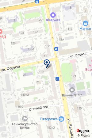 АГЕНТСТВО НЕДВИЖИМОСТИ ДИАЛ (ОФИС 4) на карте Екатеринбурга