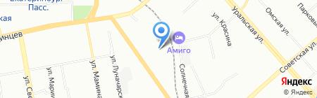 Destroy-ekb.ru на карте Екатеринбурга