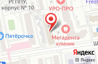 Схема проезда до компании Экспертный Центр Антикризисных Преобразований Предприятий в Екатеринбурге
