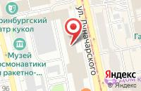 Схема проезда до компании Таймер в Екатеринбурге