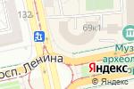 Схема проезда до компании Бельмесы в Екатеринбурге