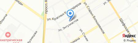 Ермак сервис на карте Екатеринбурга