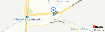 Рейнджер на карте Екатеринбурга