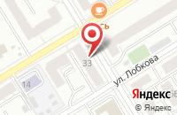 Схема проезда до компании 100Сил в Екатеринбурге