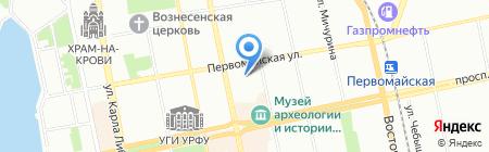 Экология на карте Екатеринбурга