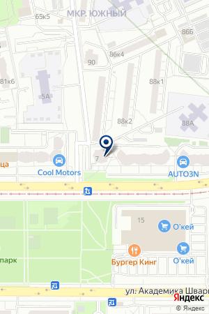 Slimclub на карте Екатеринбурга