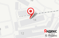 Схема проезда до компании Техносила в Екатеринбурге