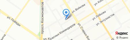Престиж на карте Екатеринбурга