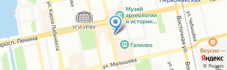SLETAI.SU на карте Екатеринбурга