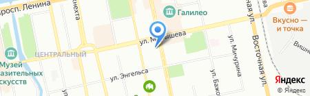 Поль Бейкери на карте Екатеринбурга