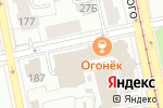 Схема проезда до компании Сыто-Место в Екатеринбурге