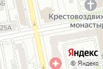 Схема проезда до компании Свадебный БУМ в Екатеринбурге