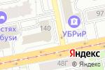 Схема проезда до компании Банкомат, Газпромбанк в Екатеринбурге