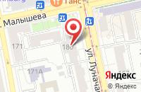 Схема проезда до компании Нивы Урала в Красноярске