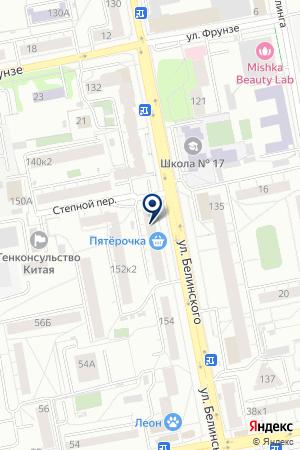 Kangoo fitness на карте Екатеринбурга