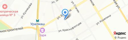 Бест Плюс на карте Екатеринбурга