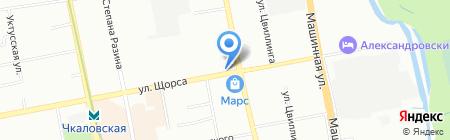 Деньгимигом на карте Екатеринбурга