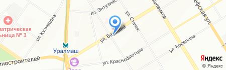 Подшипник66 на карте Екатеринбурга