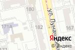 Схема проезда до компании Вся Планета в Екатеринбурге