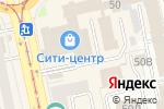Схема проезда до компании Чайка в Екатеринбурге