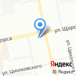 Арабелла на карте Екатеринбурга