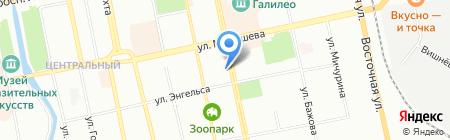 Эгоист на карте Екатеринбурга