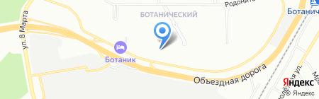 Свердловский Айкидо-Клуб на карте Екатеринбурга