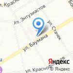 Копировальный салон на карте Екатеринбурга