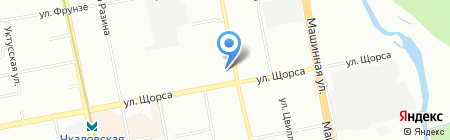 Soffitto на карте Екатеринбурга
