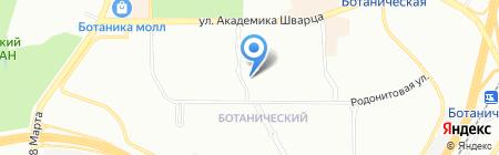 Курико на карте Екатеринбурга
