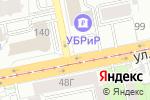 Схема проезда до компании Золотые букеты в Екатеринбурге