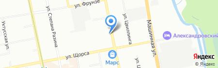 БАЗИС на карте Екатеринбурга