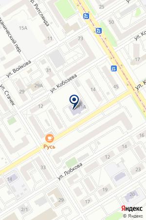 Отделение политехнического образования Дворец молодежи на карте Екатеринбурга